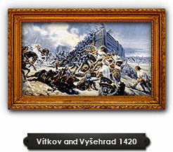 Battle of Vítkov hill and battle of Vyšehrad 1420